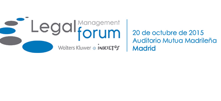 La abogacía se da cita en el II Legal Management Forum el próximo 20 de octubre